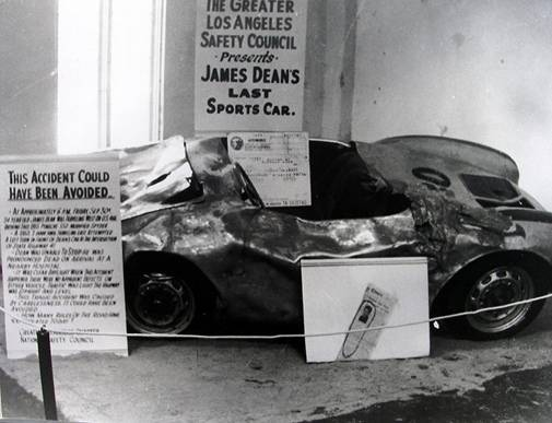 Little Bastard el Posche maldito de James Dean tragedia hollywood