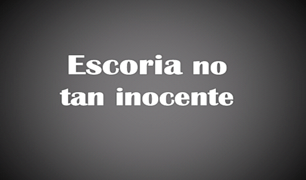 Escoria no tan inocente - Literatura