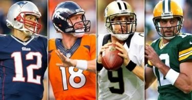 Brady Vs Manning+Rodgers+Brees - Deporte