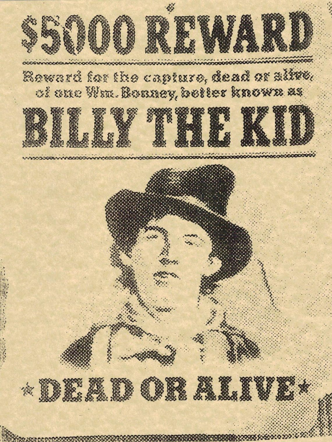 Billy the Kid - Historia